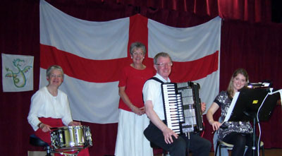 Stradivarious with Carol Hewson at Oxford, St. George's Day